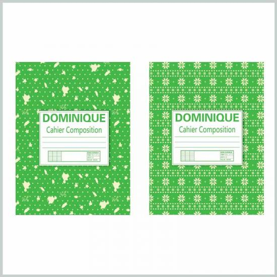 School supplies composition notebooks