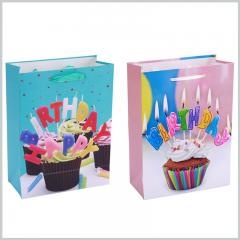 Cheap paper gift bags with handles
