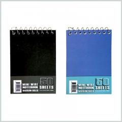 Pocket spiral notebook 50 sheets