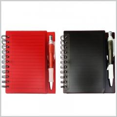 Spiral Writing Note Pads With Pen