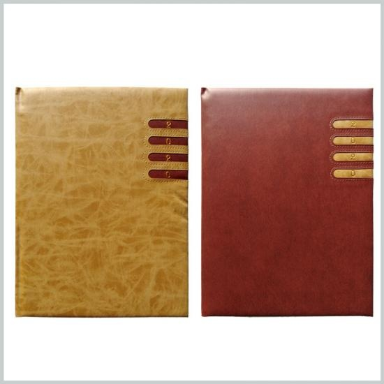 Leather notebook agenda